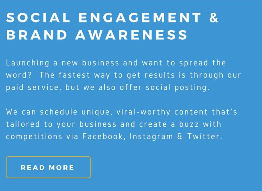 Social Engagement & Brand Awareness