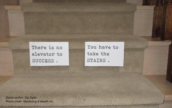 No elevator to success - lite