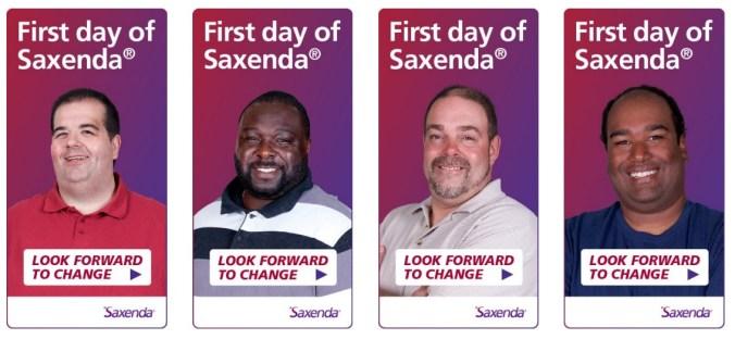 Saxenda ads - 2
