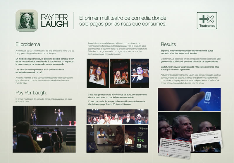 ORO Pay per laugh, de TheCyranosMcCann para Pay Per Laugh de Teatreneu.