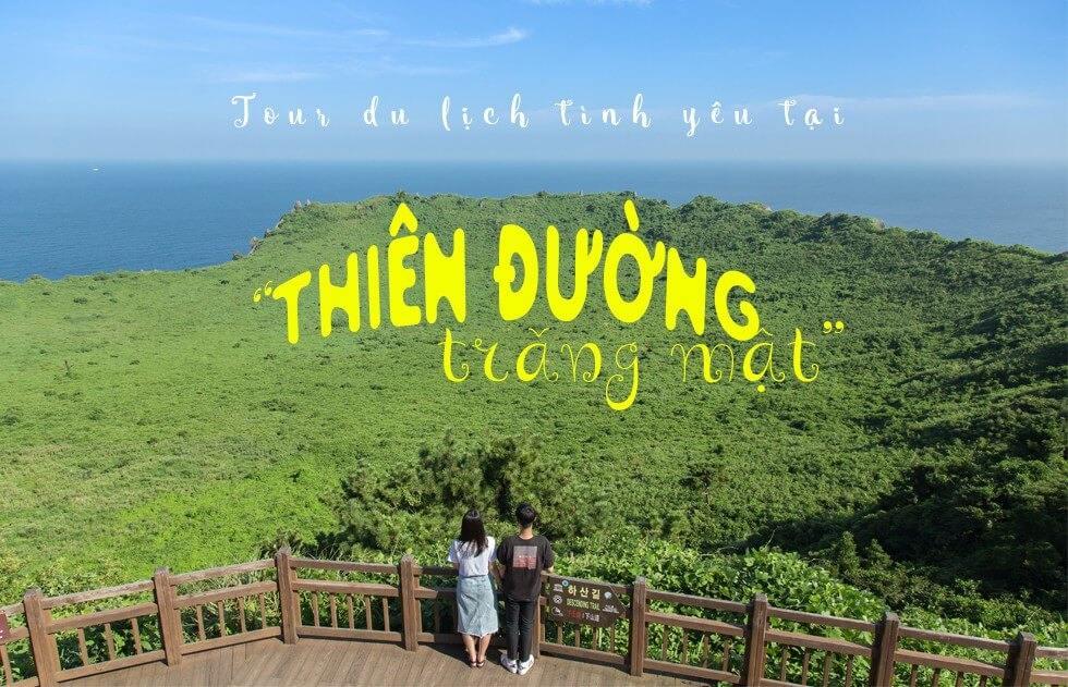 Banner tour du lịch tình yêu