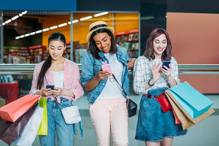 Gen Z shopping Black Friday and Cyber Monday