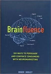 """Copertina libro """"Brainfluence"""" : 100 modi per vendere con il neuromarketing"""