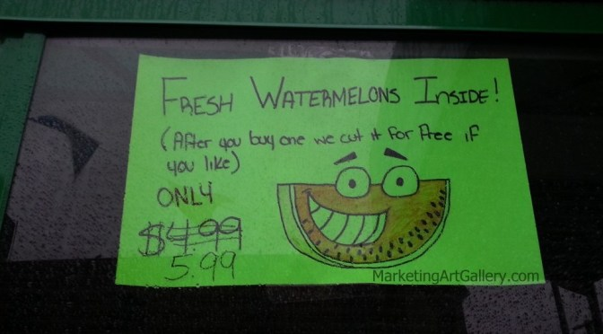 Fresh Watermelons! Great Price!