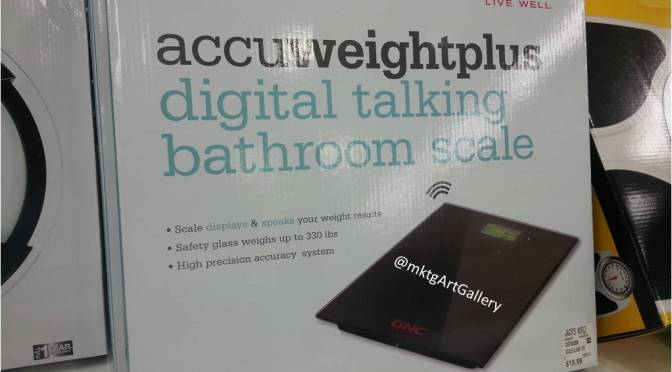 Digital Talking Bathroom Scale