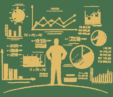 illustration of marketing metrics