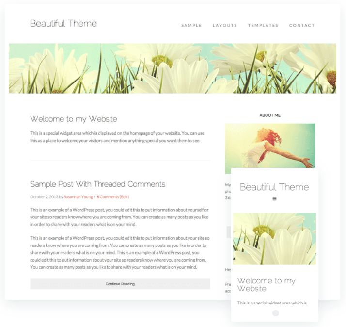 beautiful wordpress themes