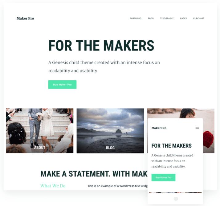 creative blog wordpress theme