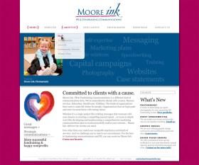 screenshot pr firm website