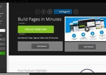 Optimizepress -Recurso –   Páginas –  Visão Geral de Colunas e Itens