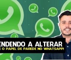 Como Mudar a Fonte e o Papel de Parede no WhatsApp?