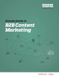 Eloqua B2B Content Marketing Grande Guide