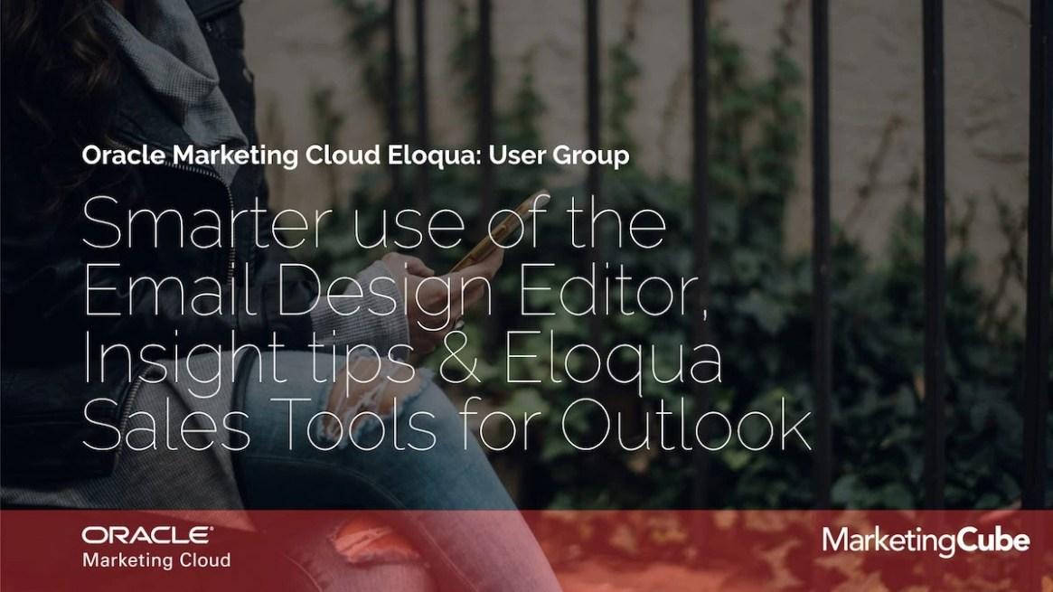 20190226 FEB Eloqua User Group 1200pxl