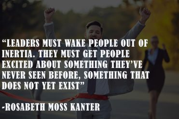 RosaBeth Kanter New Year leadership quotes