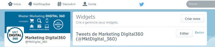 Widgets Twitter