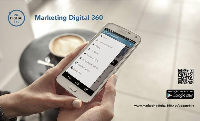 Aplicação Mobile Marketing Digital 360