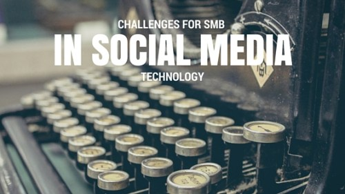 Challenges for SMB - Technology