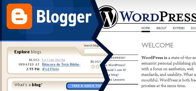 Crie seu Blog Gratuitamente no Blogger.com ou no WordPress.com