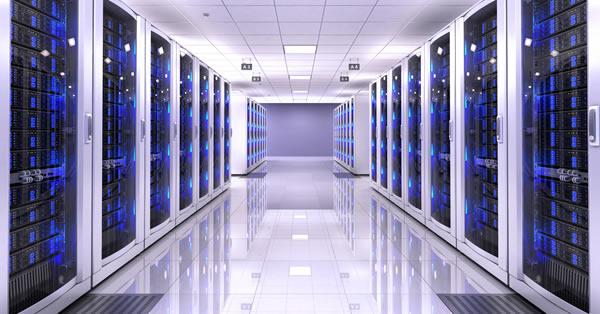 Sala de servidores para ilustrar a melhor hospedagem Wordpress.