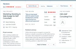 Clutch sales funnel development review