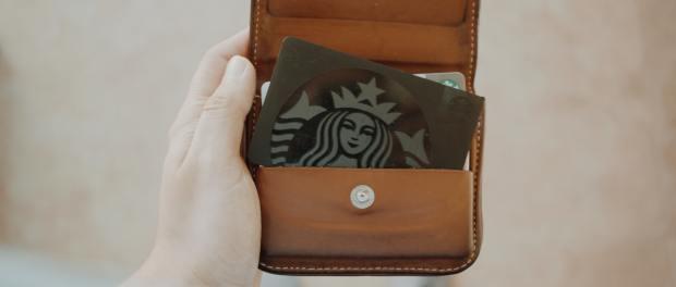 s Starbucks loyalty card