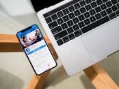 iPhone beside Macbook