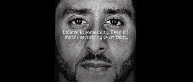 Colin Kaepernick in Nike campaign