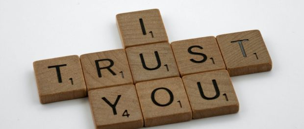 I trust you spelled out with Srabble tiles.