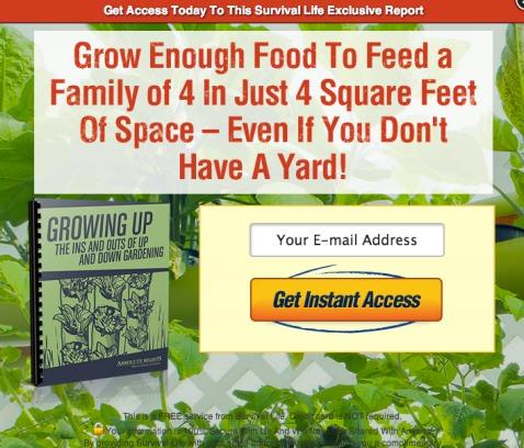Вырастите на 4 квадратных футах столько еды, чтобы прокормить семью из 4 человек - даже если у вас нет земельного участка