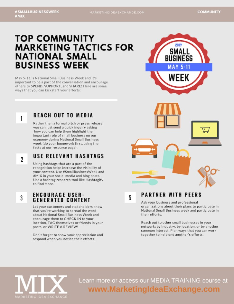 Small Business Week Tactics