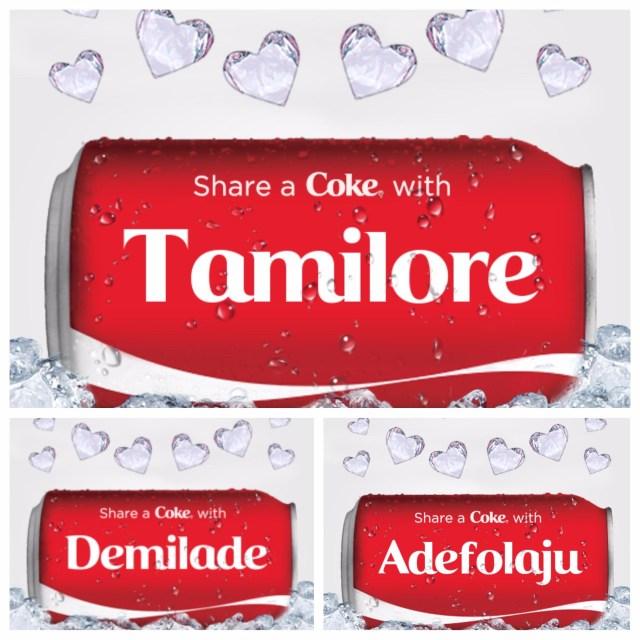 'Share-a-Coke- collage