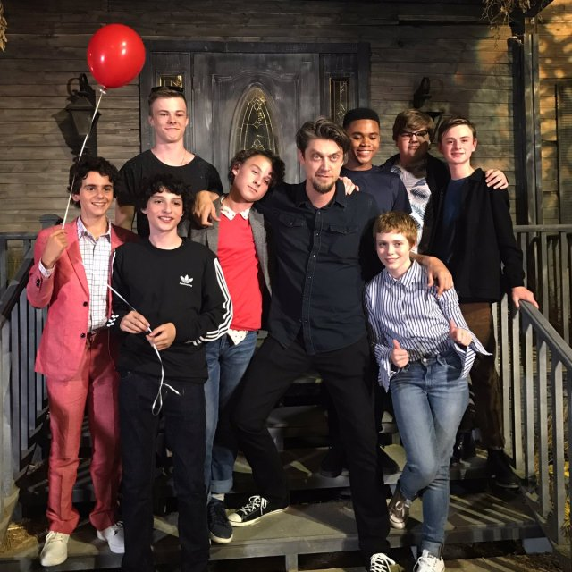 Cast and crew visit - 'IT'