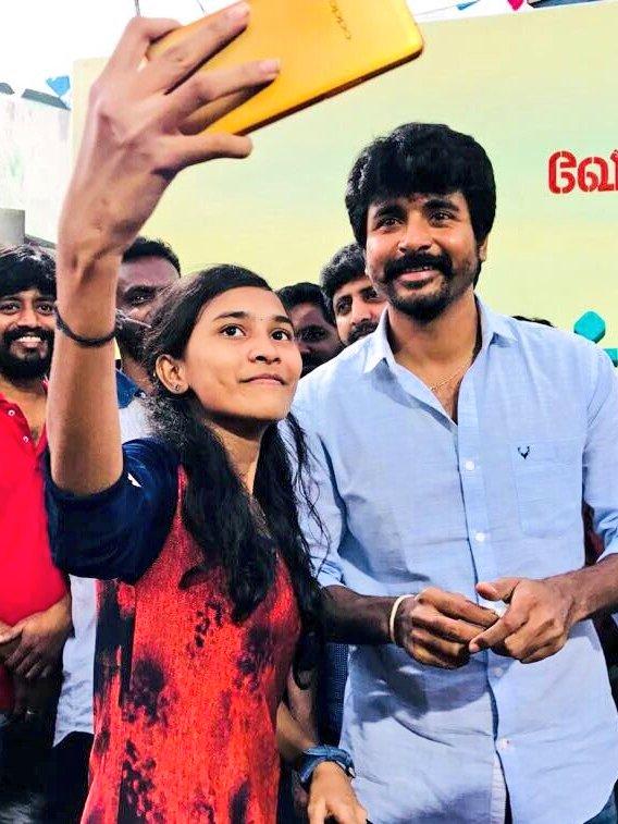 Cast and crew visit - 'Velaikkaran'