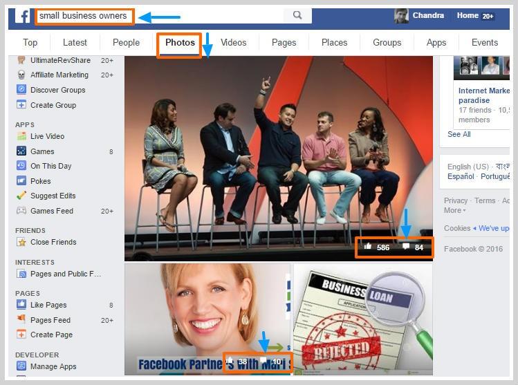 Facebook message marketing