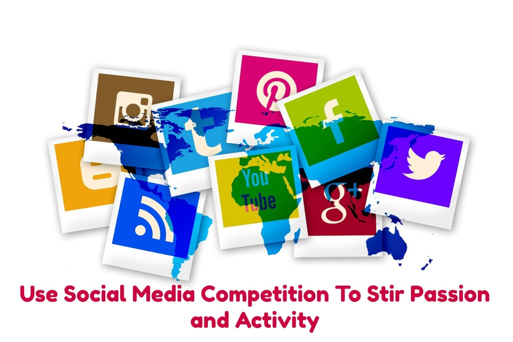 use social media competition