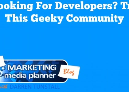 Looking for Developers? Try This Geeky Community