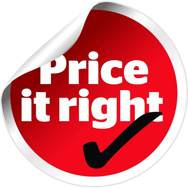 Pricing Strategy Icon: Marketing Mix Pricing Strategy