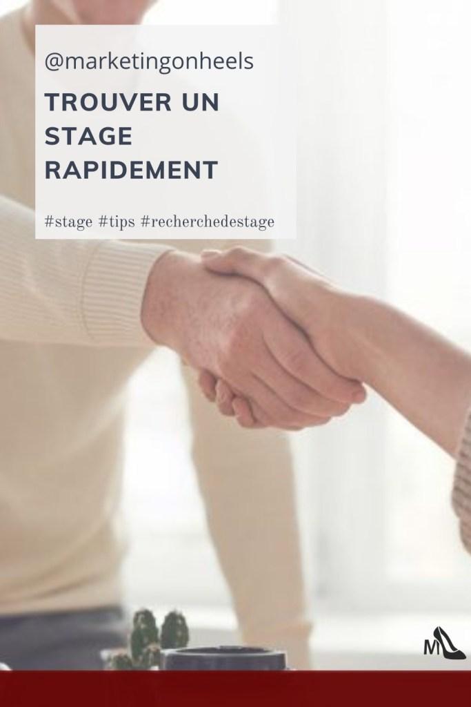 stage , trouver un stage ,entrepreneur , étudiant