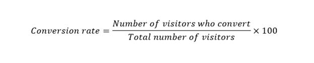 conversion rate formula