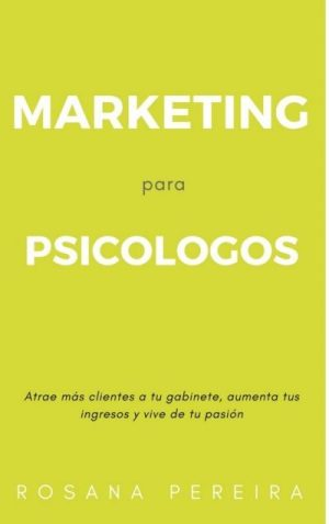 libro marketing para psicólogos