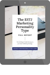 estj marketing personality type full report
