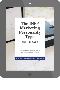 infp marketing personality type full report ipad visual