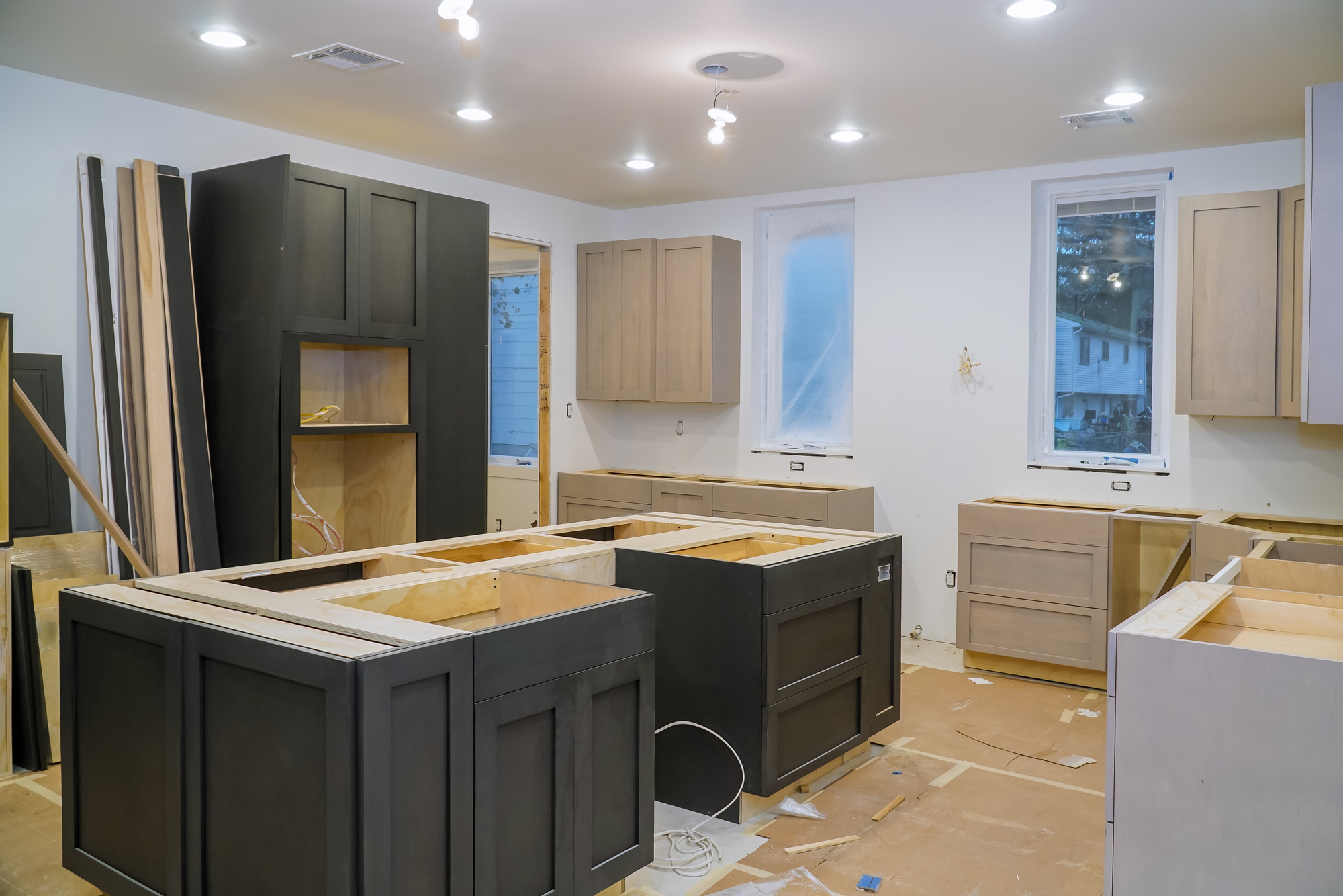 what to expect during a kitchen remodeling project - spg