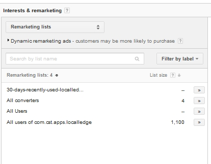 remarketing-lists