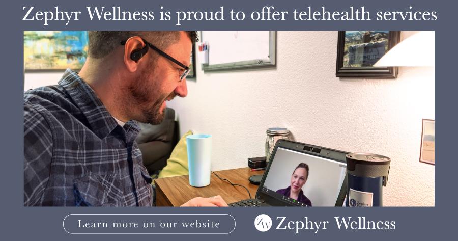 zephyr wellness telehealth ad