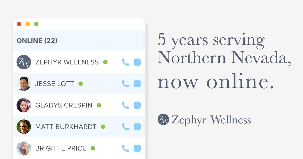 zephyr wellness advertisement
