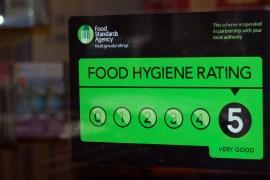 Food Hygiene Sticker