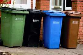 Refuse bins in Stockport
