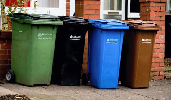 Bin collection changes announced for Stockport