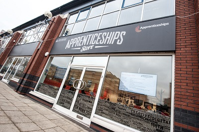 The Apprenticeship Store in Stockport